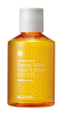 Сплэш-маска для сияния кожи Blithe Energy Yellow Citrus and Honey Patting Splash Mask