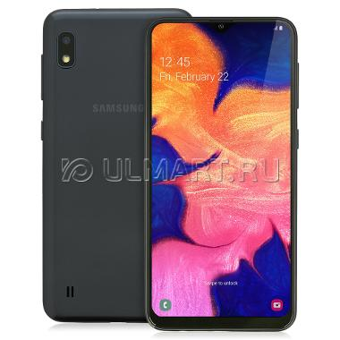 Смартфон Samsung Galaxy A10 black 6.2